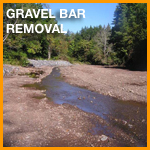 Gravel Bar Removal