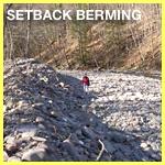 Setback Berming