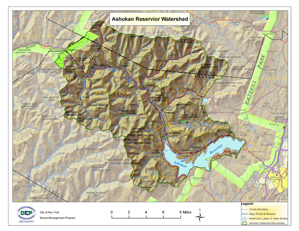 Esopus Creek  Map